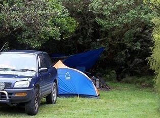 Camping setup