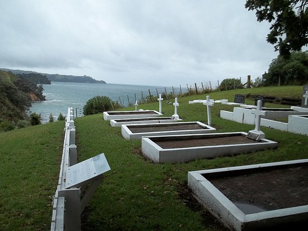 Rotoroa Island cemetery