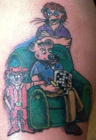 Rat Pack tattoo