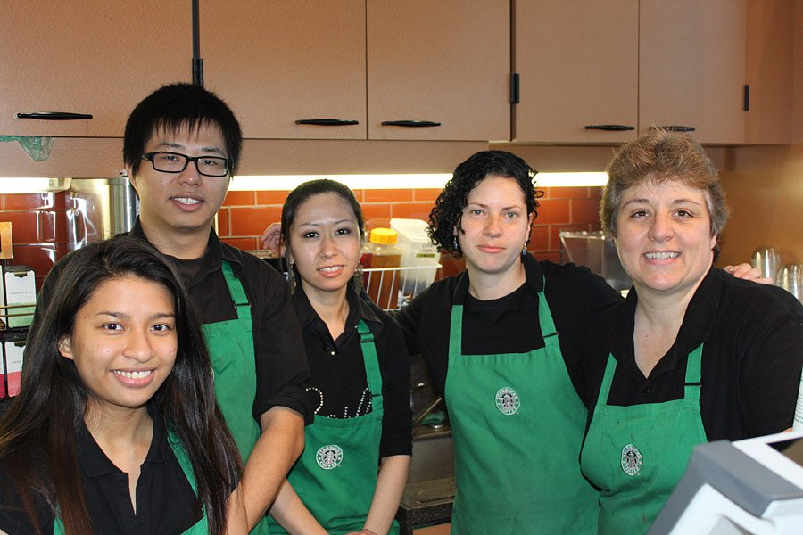 Starbucks team @ College Hill