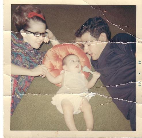 Fay, Baby Amy, and Bruce